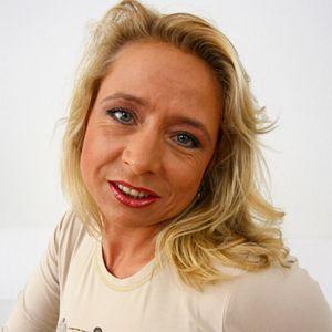 Normale blonde MILF